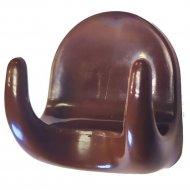Крючок-вешалка №2 шоколад 5 шт.