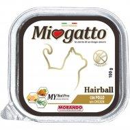 Ламистеры «MioGatto» для кошек, с курицей, 100 г.