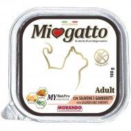 Ламистеры для кошек «MioGatto» с лососем и креветками, 100 г