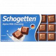 Альпийский молочный шоколад «Schogetten» 100 г.