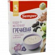 Каша «Semper» гречневая, с черносливом и яблоком, 200 г.