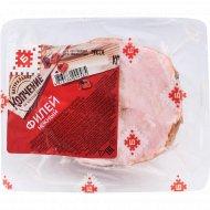 Филей из свинины «Нежный» копчено-вареный, 1 кг, фасовка 0.3-0.4 кг
