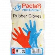 Перчатки резиновые «Paclan Professional» S.