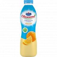 Напиток сывороточный «Свежесть» с соком апельсина, 850 г.