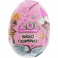 Яйцо кондитерское игрушкой «l.O.L. Surprise» 20 г