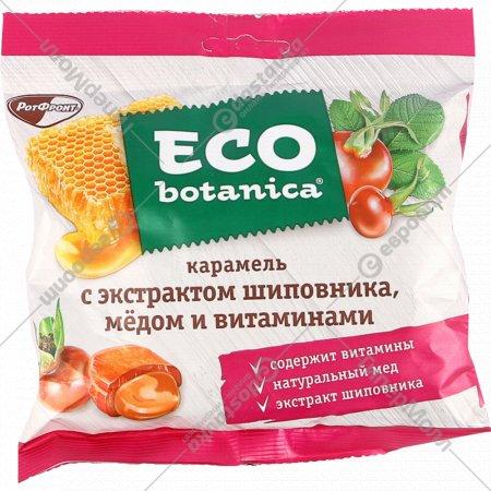 Карамель «Eco botanica» экстракт шиповника-мед-витамины, 150 г.