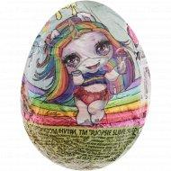 Шоколадное яйцо с игрушкой «Poopsie slime surprise» 6х24х20 г