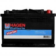 Аккумулятор автомобильный «Hagen» 52Ah, 55220