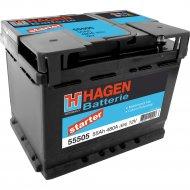 Аккумулятор автомобильный «Hagen» 55Ah, 55505