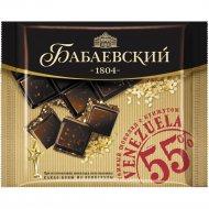 Шоколад темный «Бабаевский» с кунжутом, 90 г.