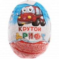 Яйцо кондитерское «Mr.Chokky» с коллекционной машинкой, 20 г