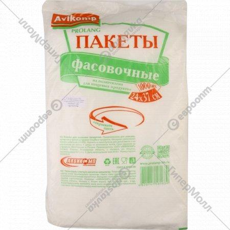 Пакеты для хранения продуктов «Avikomp» Prolang 24х37 см, 1000 шт.