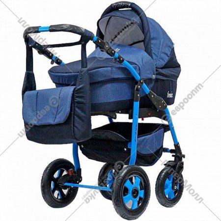 Детская коляска «Rant» Fenix Pcof 3 в 1 Темно-синий.