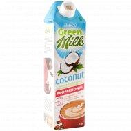 Напиток кокосовый «Green milk» на соевой основе, 2%, 1 л.