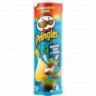 Чипсы «Pringles» морская соль и травы, 165 г.