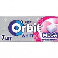 Жевательная резинка «Orbit» White Bubblemint, 16.4 г.