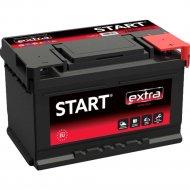 Аккумулятор автомобильный «Start» Extra, A56L2W0 1, 55Ah, 555065048