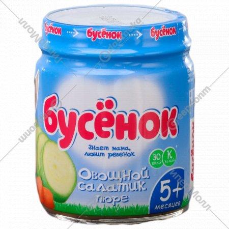 Пюре «Бусенок» овощной салатик, 100 г.