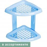 Полка для ванной комнаты «Морелла» 2-х ярусная, 18,5Х18,5Х31,5 см.