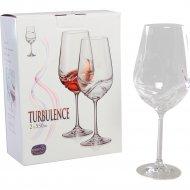 Набор бокалов для вина «Bohemia Crystal» Turbulence, 2 шт, 550 мл