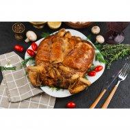 Птица, фаршированная грибами и блинчиками, готовая, 1 кг., фасовка 1.2-2 кг