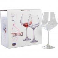 Набор бокалов для вина «Bohemia Crystal» Turbulence, 2 шт, 570 мл