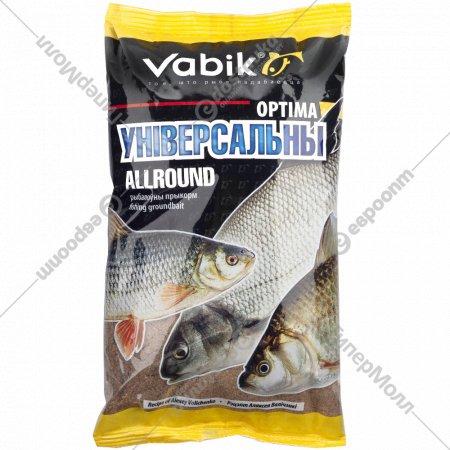 Прикормка рыболовная «Vabik» optima, универсальная, 1 кг.