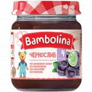 Пюре «Bambolina» чернослив, 100 г.