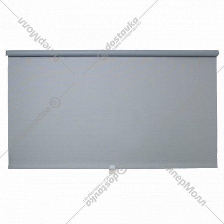 Рулонная штора «Тупплюр» блокирующая свет, 80x195 см, серая.