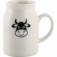 Кружка фарфоровая «Funny Cow» 300 мл.