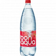 Вода питьевая газированная «Bonaqua» малина, 1.5 л.