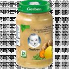 Пюре «Gerber» овощи с фрикадельками из говядины, 190 г