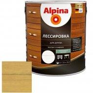 Защитно-декоративный состав «Alpina» Лессировка, сосна, 2.5 л