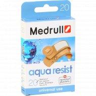 Лейкопластырь медицинский «Medrull» Aqua Resist №20, 20 шт.