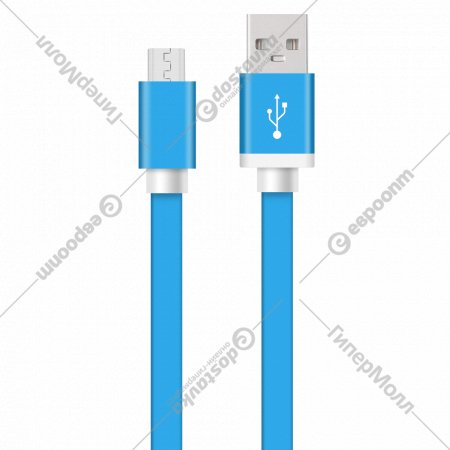 USB кабель «Micro Krutoff Flat» 1 м.