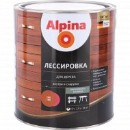 Защитно-декоративный состав «Alpina» Лессировка, тик, 2.5 л