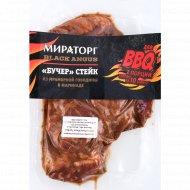 Стейк из мраморной говядины «Бучер» 480 г