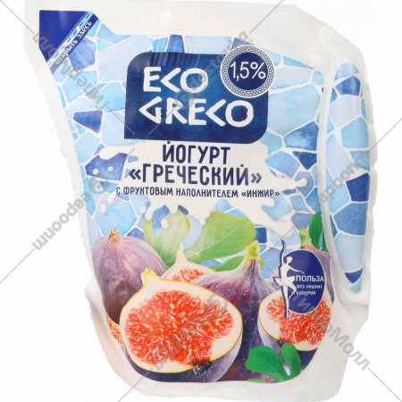 Йогурт «Греческий» инжир 1.5 %, 500 г.