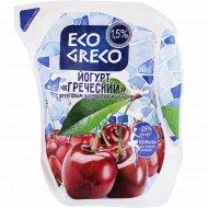 Йогурт «Греческий» вишня, 1.5 %, 500 г