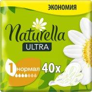 Гигиенические прокладки «Naturella» Ultra Camomile Normal Quatro, 40 шт.