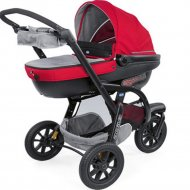 Коляска «Chicco» Trio Activ3 Top Car, Red Berry