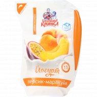 Йогурт «Персик-маракуйя» 1.0%, 800 г.