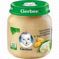 Пюре «Gerber» цветная капуста и картофель, 130 г.