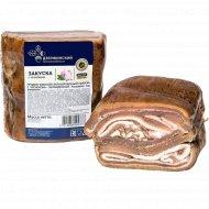 Продукт мясной «Закуска с чесноком» охлажденный 1 кг., фасовка 0.4-0.7 кг