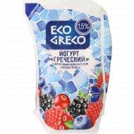 Йогурт «Греческий» лесная ягода 1.5 %, 800 г.