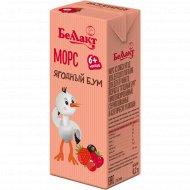 Морс из смеси ягод «Ягодный бум» для детского питания, 0.2 л.