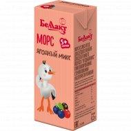 Морс из смеси ягод «Ягодный микс» для детского питания, 0.2 л.