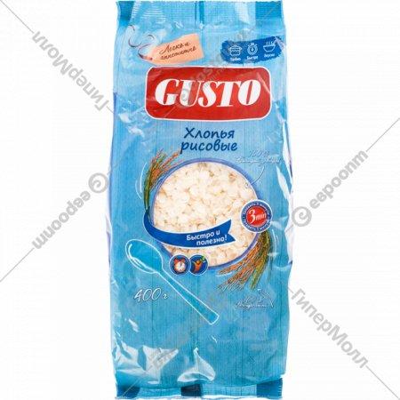 Хлопья рисовая «Gusto» 400 г.
