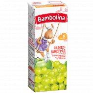Сок «Bambolina» яблочно-виноградный, 200 мл.
