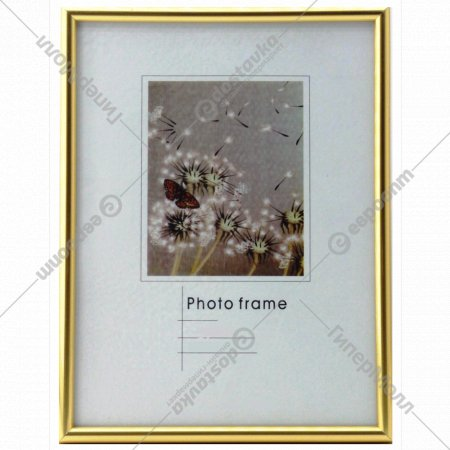 Рамка пластиковая «Poldom» со стеклом, 16416, 13x18 см.